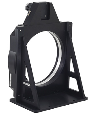 Vertically Mounted Motorized Rotation Stage with Large Aperture  (350 mm) Platform