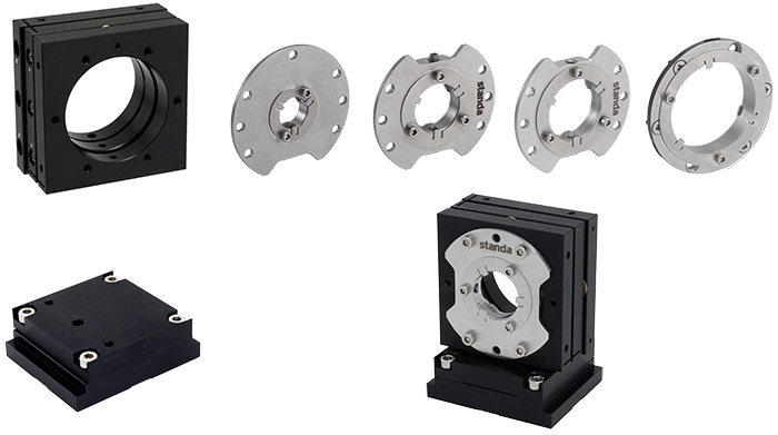 5UFOM-40 Optical Flexure Mount Adapters Range (for 0.5