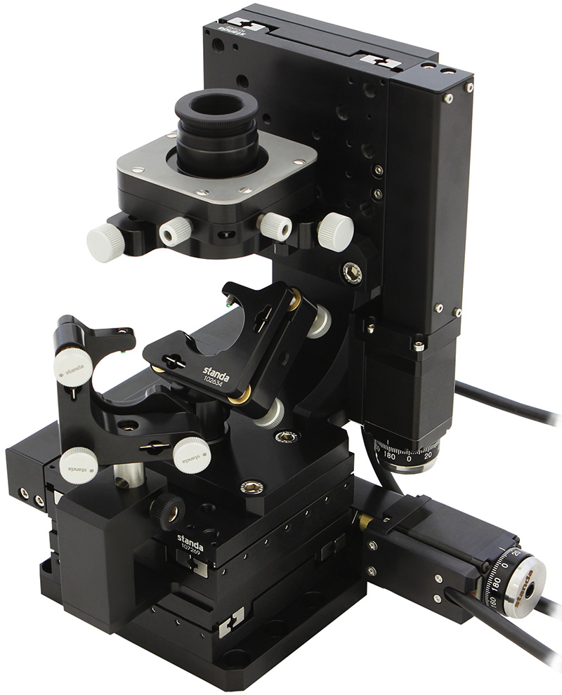 Automated XYZ System for Microscope Objetives