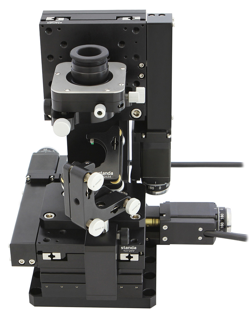 Motorized XYZ Microscope Stage