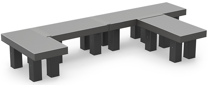 Connected (with 1CI-XXX) Multiple Optical Tables System