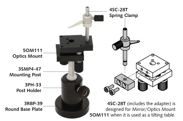 Mirror Optics Mount Optical Positioners Catalog