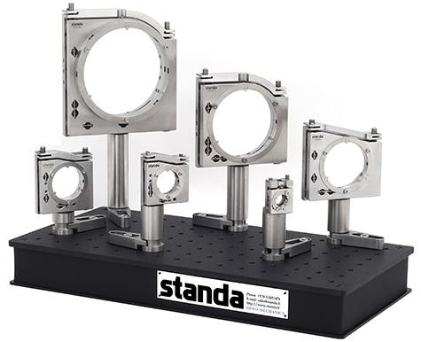 All available 5KVDOM series optics diameters range (for 0.5, 1, 1.5, 2, 3, 4 inch optics)