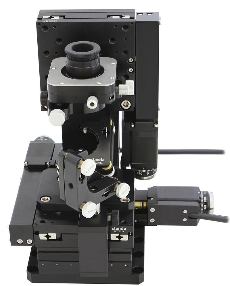 Motorized XYZ Microscope Stage
