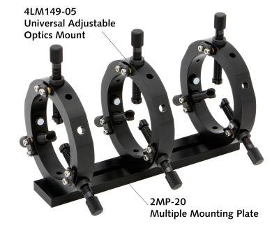 Universal adjustable lens / optics mount 4LM149